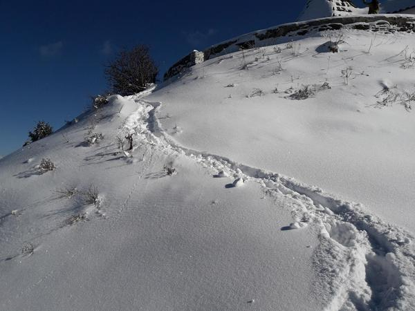Hatu peak Snow trek