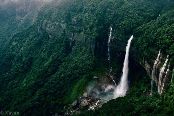 Trek to the top of the Tallest Waterfall plunge