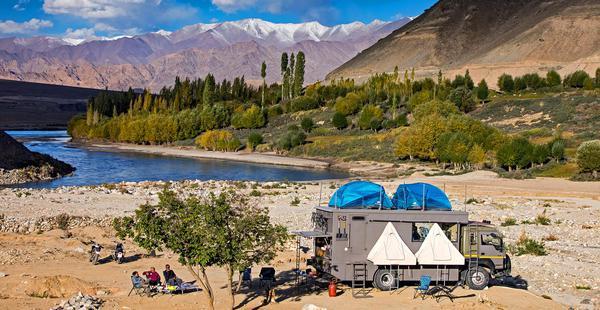 Ladakh - aboard Luxury Overland Truck