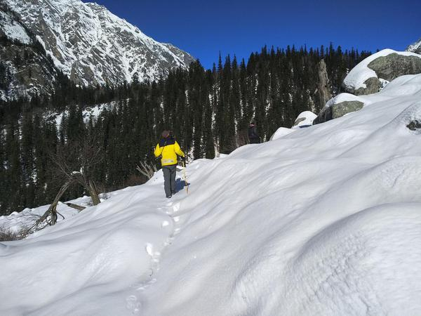 Bhaba valley winter trek