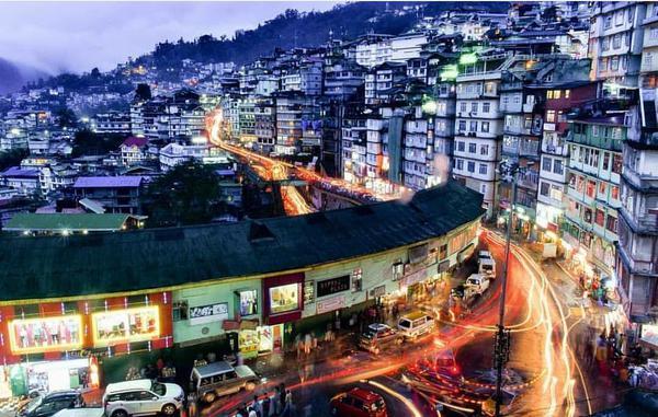 Streets of Gangtok