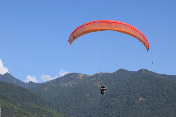 Camping & Paragliding in Bir Billing