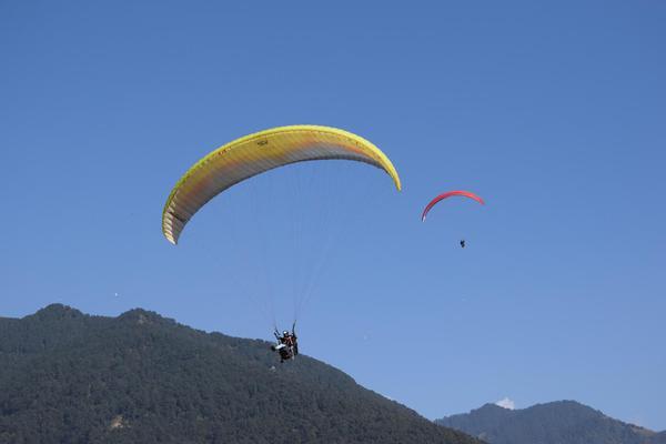 P1 + P2 Paragliding course in Bir