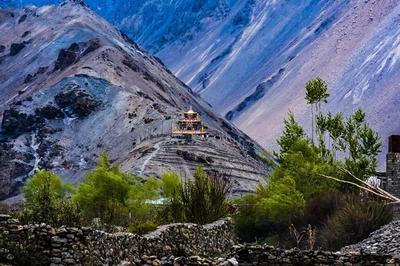 Gue Monastery, Spiti