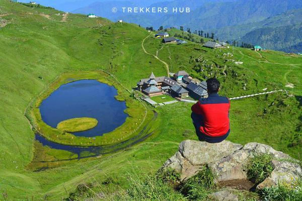 View of Parashar lake