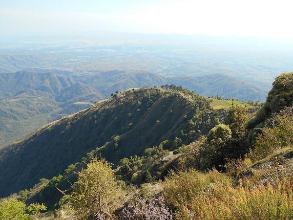 Scenic Mountain Views on Chhaskhet Nature Trail