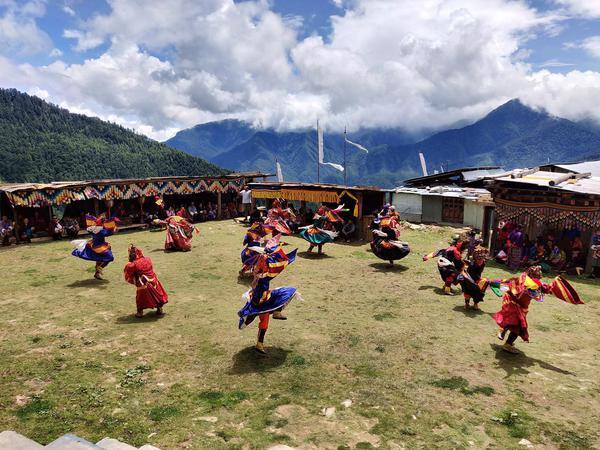Backpacking Bhutan