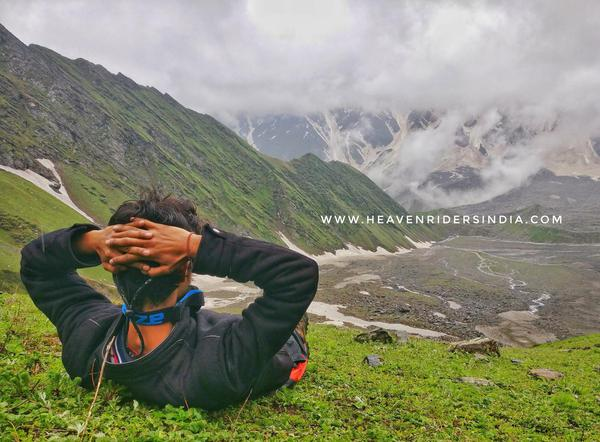 View from Beas Kund