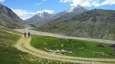 Mountain Biking in Spiti Valley