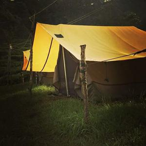 Luxury tent stay in the midst of tea plantations