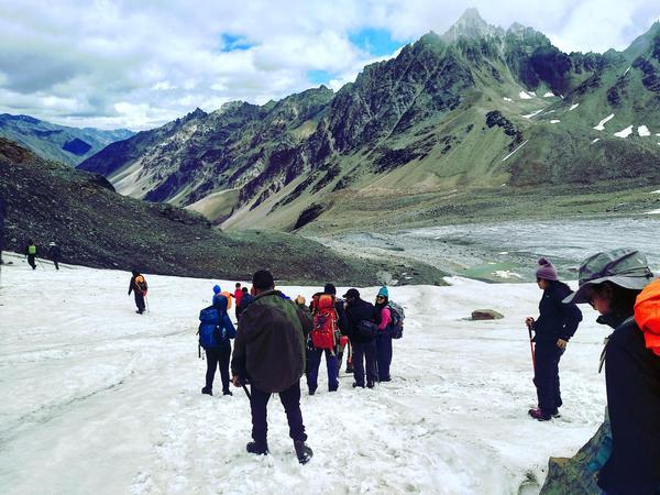 Bhaba pass to mudh village trek