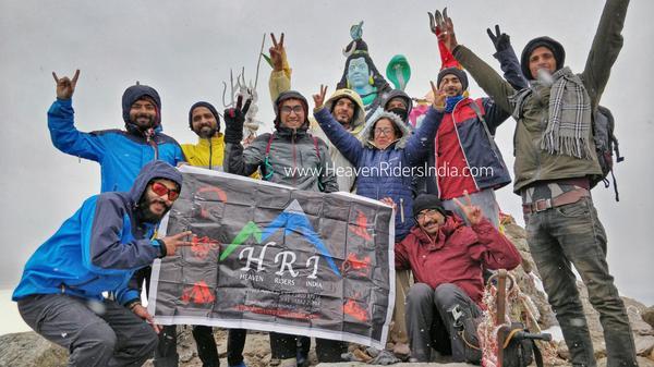 Group at Churdhar Peak