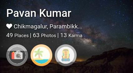 Pavan Kumar's traveler profile on MyWanderlust.in