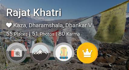 Rajat Khatri's traveler profile on MyWanderlust.in