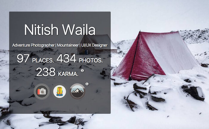 Nitish Waila's traveler profile on MyWanderlust.in