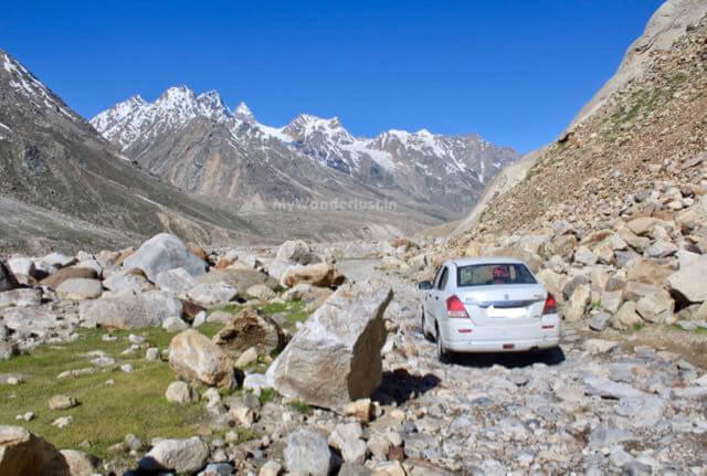 Gramphu to Kunzum road